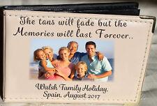 Personalised Photo Album 6 x 4,Family Holiday, Memory keepsake