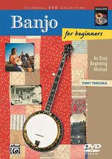 Banjo for Beginners. DVD; Trischka, Tony, ALFRED - 22881