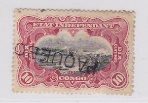 Belgian Congo 1894 Paquebot