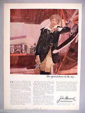 John Hancock Life Insurance PRINT AD - 1964 ~~ Amelia Earhart
