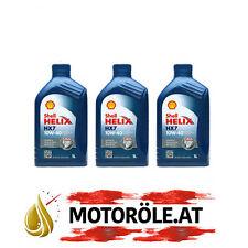3x1 Liter Shell Helix HX7 10W-40 Motoröl, ACEA A3/B4 - VW 502 00/ 505 00