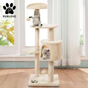 Small Cat Kitten Tree Climbing Tower Scratcher Scratching Post Activity Centre