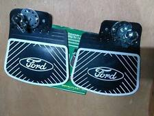 FORD ESCORT MK1 MK2 CORTINA ANGLIA FIESTA TRANSIT MUD SPLASH GUARDS FLAPS PAIR