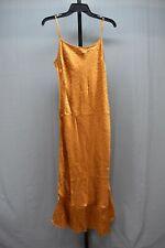 Joie Dalvin Leopard-Printed Slip Dress - Women's Size M - Bronze Orange