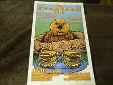"5/2013 ""The Bushwood Clubhouse Melt"" MELT BAR & GRILLED Poster - CADDYSHACK"
