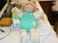 cabbage patch doll boy   blue