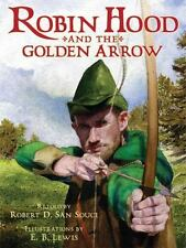 Robin Hood And The Golden Arrow-ExLibrary