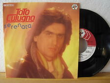 "7"" Single - TOTO CUTUGNO - Serenata - Vinyl in Near Mint! - 1984"