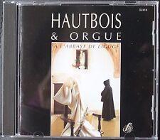 HAUTBOIS & ORGUE A L'ABBAYE DE LIGUGE   CD