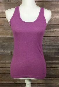Nike Womens Regular Fit Escape Swag Racerback Tank Top 524166 XS Purple GUC S29