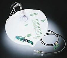Bard Infection Control Drain Bag with Anti-Reflux Chamber #154004 1 Each