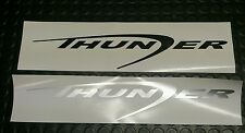 1x FORD RANGER THUNDER REAR BOOT DECAL ONLY vinyl sticker