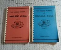 1960 - 1962 Two Hundred Patterns of Haviland China, Book 3 & 4