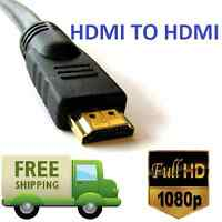 GOLD 1080P HDMI CABLE LEAD SMART HD TV HDTV 3D METRE 1m 1.5m 2m 3M 5M 10M Uk