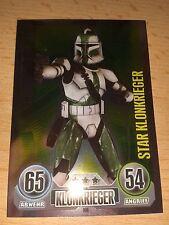 Force Attax Star Wars Serie 1 Star-Karte Nr.160 Commander Gree Sammelkarte