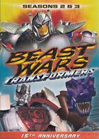Beast Wars Transformers: Seasons 2 & 3 (Keepca New DVD