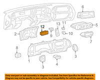 96-00 NP1 TAHOE SIERRA SILVERADO SUBURBAN TRANSFER CASE 4X4 4WD SWITCH 19168766