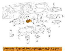 1996-1999 SILVERADO SIERRA TAHOE YUKON 4WD DASH SWITCH NEW GM # 19168766