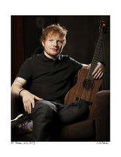 Ed Sheeran / Original Signed Fine Art Print / 2013