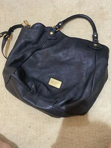 Marc Jacobs Extra Large Leather Black Tote Bag
