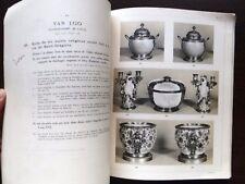 Catalogue de vente Mobilier objet d'art tableau Ceramique du XVIIIe siecle 1932