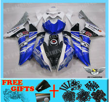NT Blue White Injection Body Kit Fairing Fit for Yamaha YZF R6 2008-2015 d010