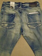 PRPS BARRACUDA Straight Distressed Jeans Mens 44 x 34 Orig. $275+ Light Wash