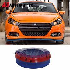 "100"" Foam Front Bumper Lip Splitter Chin Spoiler Valance Universal Fit EZ Blue"