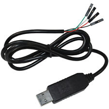 HQRP PL2303 USB to RS232 TTL Serial Auto Converter Cable Cord