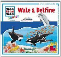 WAS IST WAS JUNIOR - FOLGE 22: WALE & DELFINE  CD  KINDERHÖRSPIEL  NEU