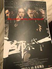 THE GRANDMASTER ZHANG ZIYI TONY LEUNG CHIU-WAI WONG KAR-WAI SIGNED 12x18 REPRINT