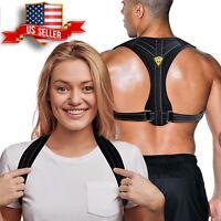 Posture Corrector for Women & Men   Adjustable Back Brace Back Straightener  USA