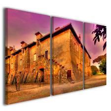 Quadri moderni Old home stampe su tela canvas casa antica masseria vino enoteca