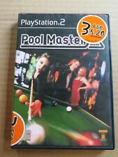 PLAY STATION 2-POOL MASTER EXCELLENT CONDITION