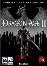 Dragon Age II: BioWare Signature Edition (PC DVD, WIN/MAC, 2011) No Bonus Code