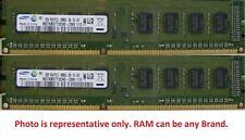 Samsung 8GB 2X 4GB 2RX8 PC3-10600U DDR3 1333MHz For Dell Latitude E6400 E6500 #E