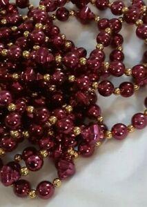 """Christmas Beads Garland 240"""" +"""