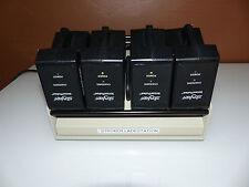 Stryker InterPulse Charger Akku Accu Battery Ladegerät + 4 x Powerpack