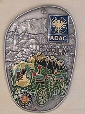 PLACCA ADAC MSC Bad Tõlz loisachtal 1977