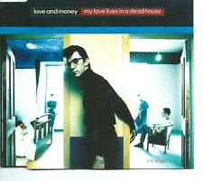 LOVE AND MONEY My Love Lies In A Dead House 4 TR CD EP JAMES GRANT LOVE & MONEY