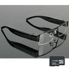 Camera Glasses 32GB Home Security Video Cam DVR Action HD 1080P (No SPY Hidden