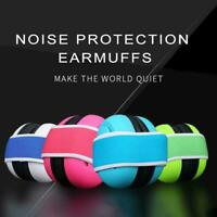 Kids Children Ear Defenders Baby Noise Cancelling Headset Headphone Safety D3O8