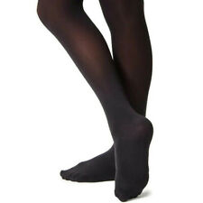 SILKY Ballet Dance Tights Full Foot Footed Adult Sizes BLACK