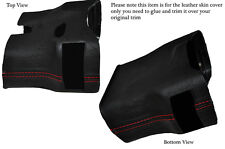 RED STITCH STEERING SHROUD LEATHER COVER FITS PORSCHE 986 BOXSTER&CARRERA 996