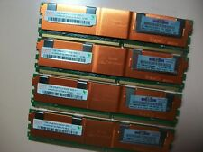 HP/Hynix 4GB (4x 1GB) 2RX8 PC2-5300F FB-DIMM Server RAM  HYMP512F72CP8N3-Y5 AB-C