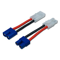 2er Adapter Set EC3 Stecker auf Tamiya Male Female Buchse Lipo Akku Adapterkabel