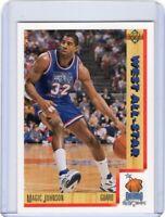 1991-92 UPPER DECK BASKETBALL CARD # 464 -  MAGIC JOHNSON - LOS ANGELES LAKERS