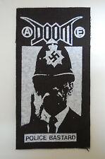 Doom Cloth Patch  Crust Punk Rock Dirt Crass Dystopia Infest Aus Rotten