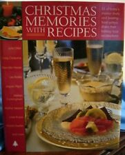 Christmas Memories With Recipes Cookbook HBDJ Holidays  ++++