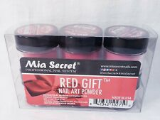 Mía secret 6 pack red gift collection/ three nail files free